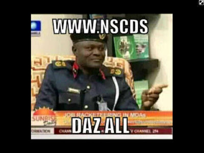 """Hilarious Photos Of """"My Oga At The Top"""" (NSCDC)   Magnus"""